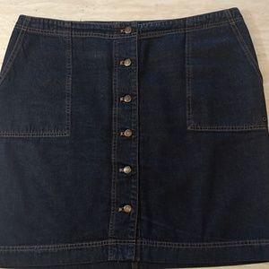 Ralph Lauren (Lauren Jeans Co.) Denim Mini Skirt
